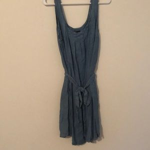 Gap denim dress with tie belt